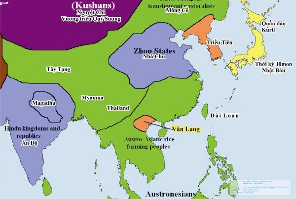 Tìm hiểu lịch sử dựng nước Văn Lang của vua Hùng