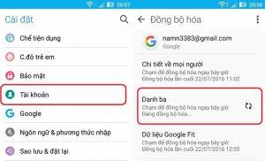 Hướng dẫn cách lấy lại danh bạ từ gmail