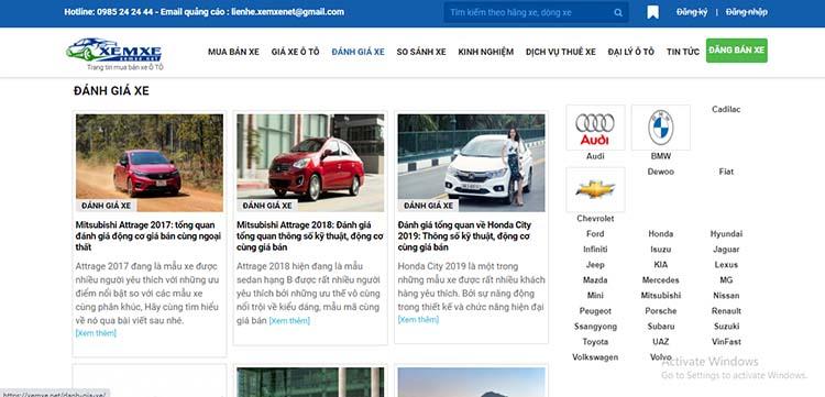 xem review xe tại Xemxe.net